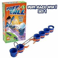Tomy Puff Ball Party Game Set Includes 16 Pieces For Age 6y+ – Starter Set