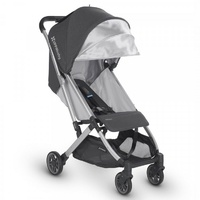 UPPAbaby Minu - Charcoal Melange (Jordan) '6 Months+ 100% full-grain leather