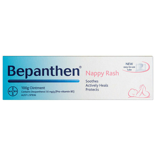 Bepanthen Nappy Care Ointment 100g - Every Day Protection and Care of Nappy Rash